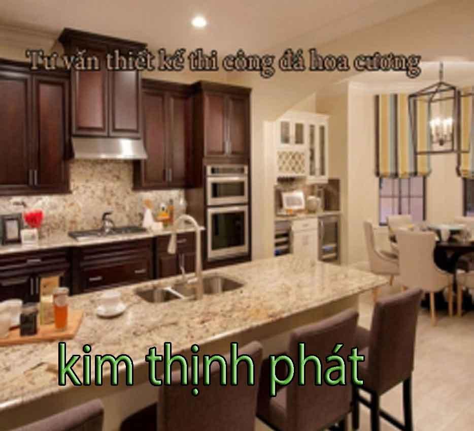 đá hoa cương bàn bếp